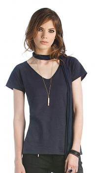 Artikelbild Ladies` V-Neck Slub